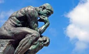 El pensador, Auguste Rodin.