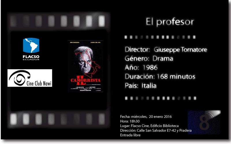 Película: El profesor.